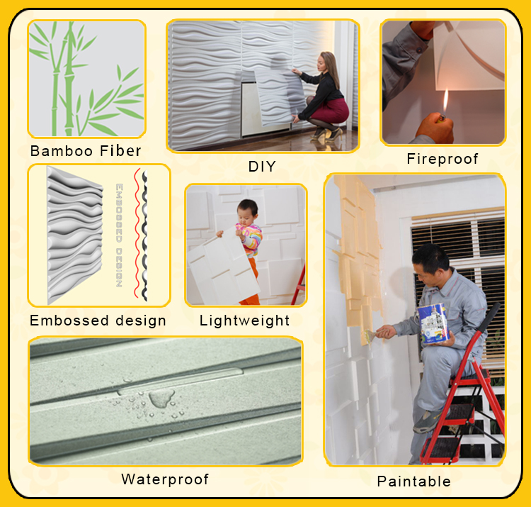 2017 innovative product ideas wall tiles design 3d wall panel for interior decor