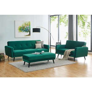 Air-o-space 5 in 1 sofa bed/leather sofa bed/wooden frame sofa bed