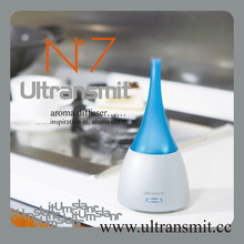 Hot selling portable ultrasonic thai eyun massage aroma oil with timer & mist adjustable for aromatherapy