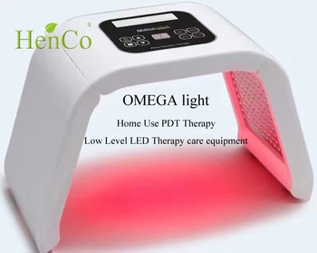 4 color PDT/ LED therapy blue light acne device
