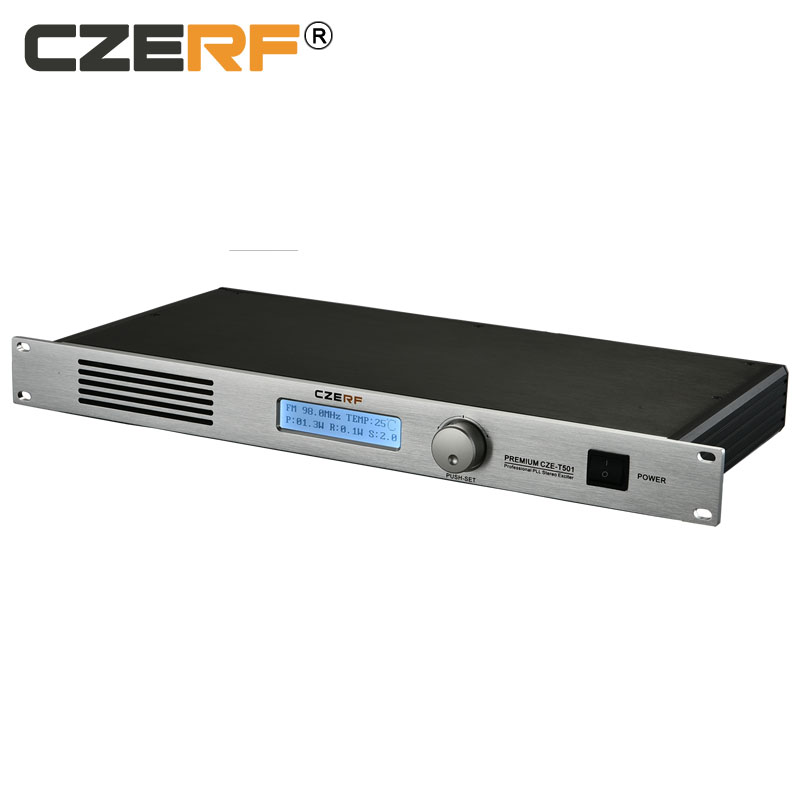 CZE-T501 50 watt wireless mini fm radio equipment transmitter for radio station фото