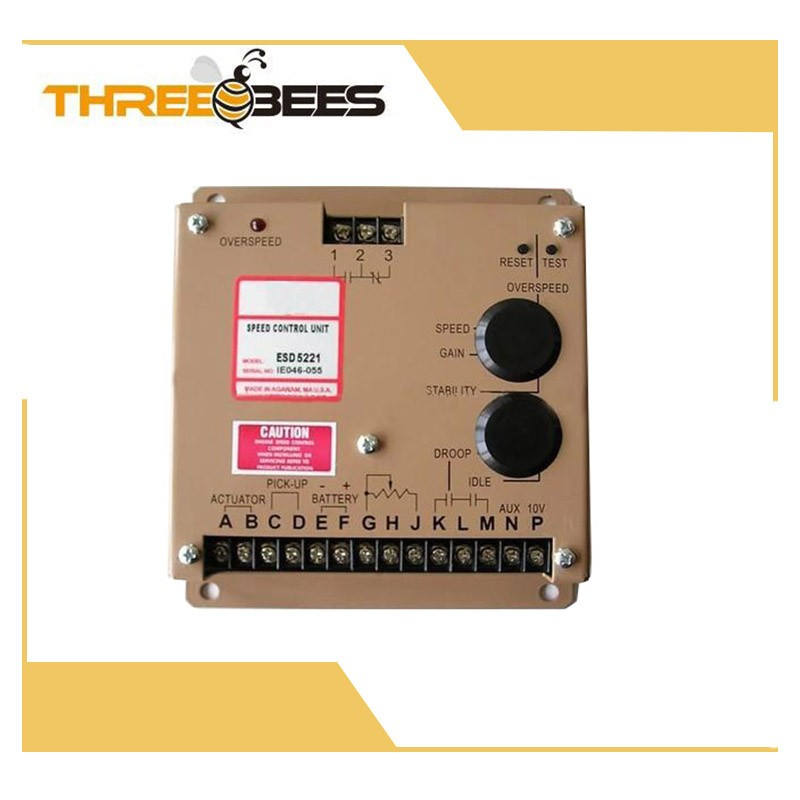 New ESD5221 Electronic Engine Speed Controller Governor Generator Genset Parts