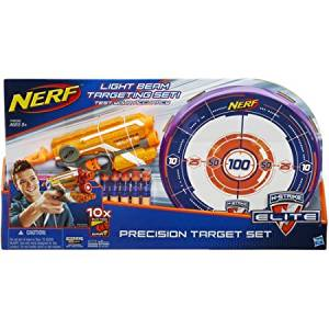 Nerf N-Strike Elite Precision Target Set with 10 Suction Darts in 2 different colors