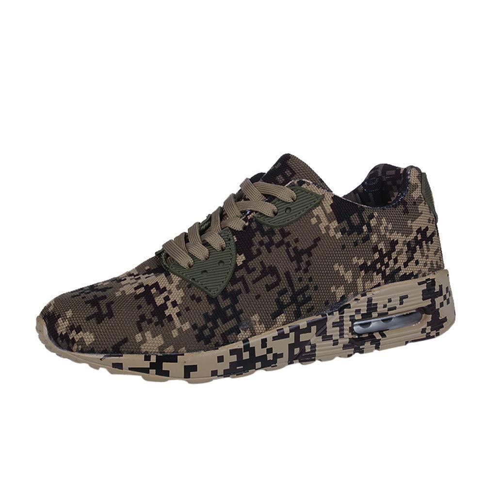Sneakers for Women,Clearance Sale! Caopixx Women's Ladies Camouflage Walking Shoes Flat Heel Sport Causal Shoes