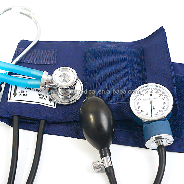 SW-AS15 hospital blood pressure monitor mercury sphygmomanometer with rappaport stethoscope