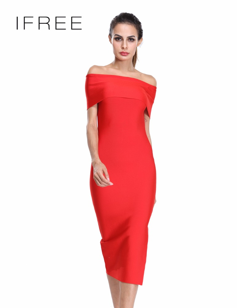 Women formal maxi off the shoulder gown split sexy Chinese dress