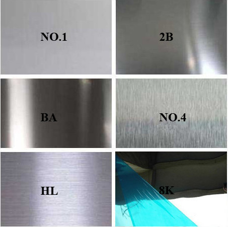No 1 2b Sheet And 2b Finish 304 Stainless Steel Plate