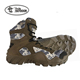 "6""Camouflage Men's Waterproof Military uniform shoes for Hunting Boot"