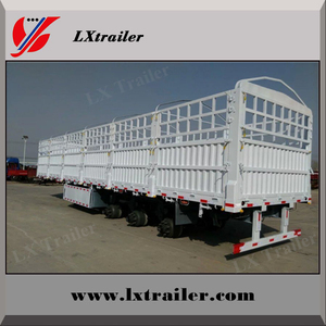 Stake Semi-Trailer/ Fence semi traier/ Cargo Semi Trailer Exported to Africa