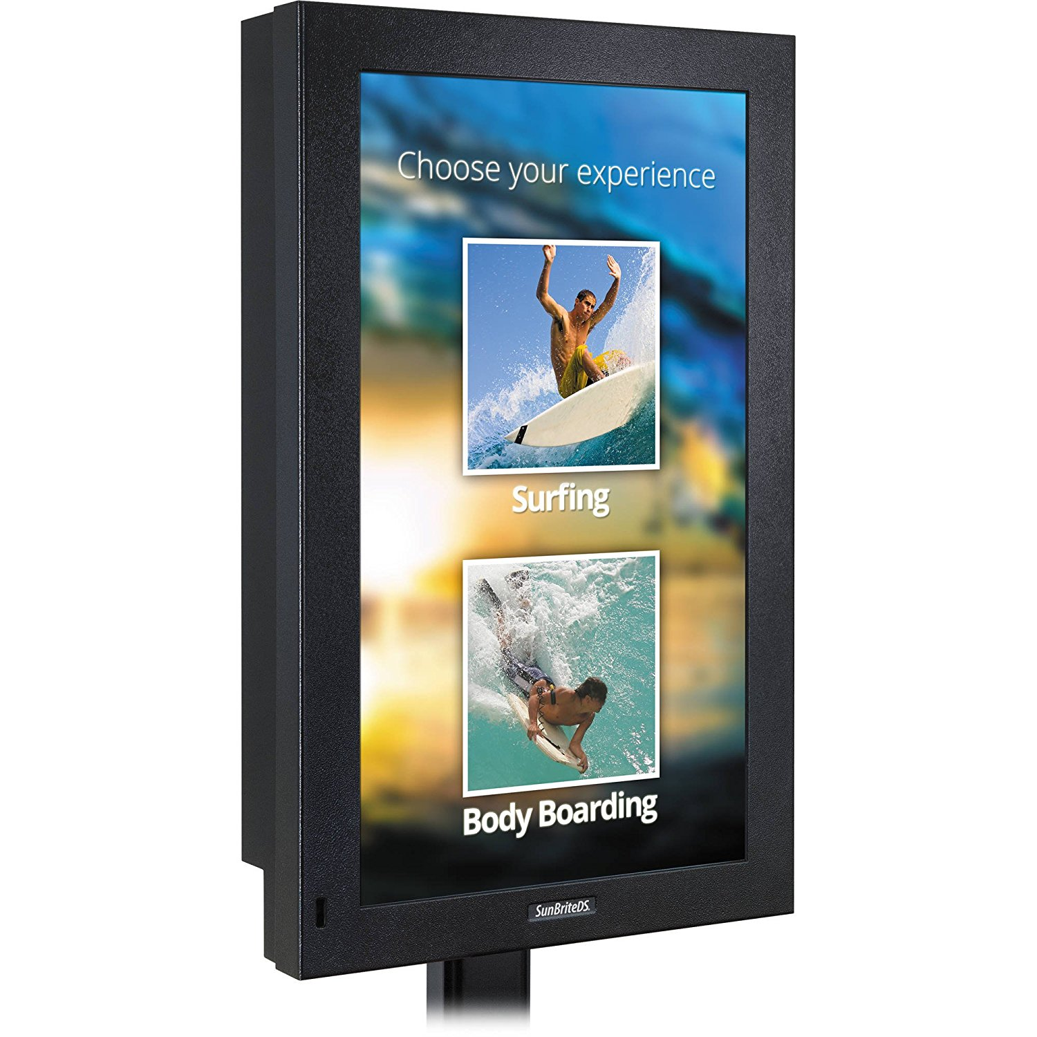FITS TV with Wall Mount 76.7W x 5.4D x 47.9H Sunbrite SB-8418UHD-BL 84 TV Outdoor Waterproof Black Cover Maximize TV Life by Comp Bind Technology Heavy Duty Material