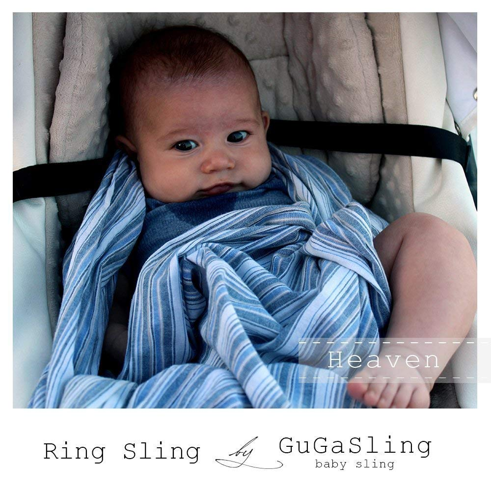 f2a54b76ad2 Get Quotations · GuGaSling Heaven Baby ring sling with gift bag