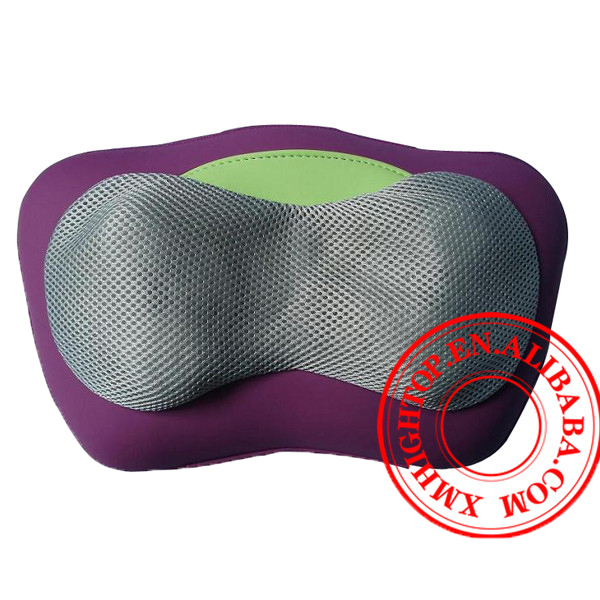 Heated body pillow with shiatsu mechanism for massage full body