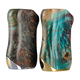 Stabilized Wood Mod Feeder Squonker Box Mod Stab Wood Engraved Mech Mod