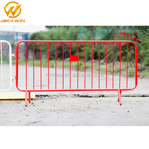 Temporary Outdoor Portable Safety Powder Coated Crowd Control Fence for Event
