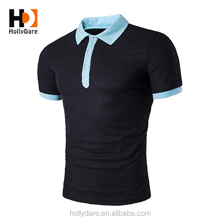 Hot Sell Leisure Polyester T Shirt Polo