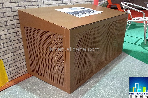 Decorative Outdoor Wooden False Air Conditioner Pipe Cover
