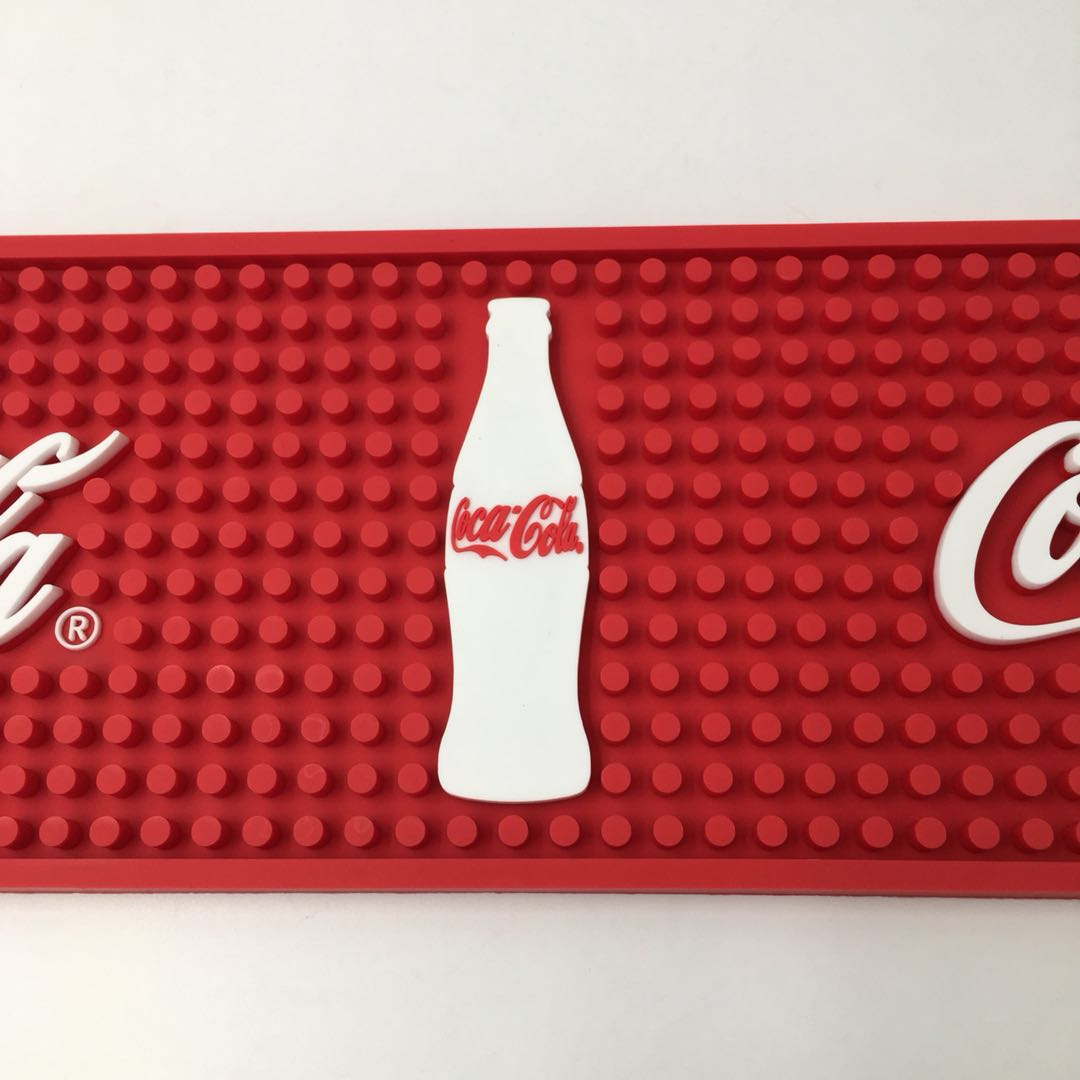 Eco-Friendly Soft PVC Rubber Bar Counter Mat for Bar and Coffee Shop