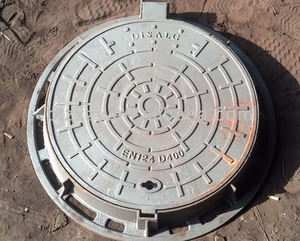 Needed Good Condition Stable Locking Manhole Cover, En124 manhole cover Factory