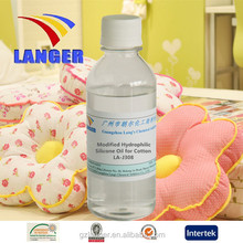 good adaptability Modified Hydrophilic Silicone Oil for cellulose fibers and fabrics LA-J308B