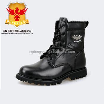 Tahan dingin musim dingin kanada Sepatu Keselamatan Sepatu bot tentara  pasukan khusus Militer hitam f8145ec6c7