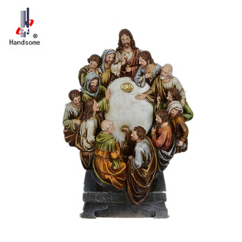 Clic Resin Religious Wall Hanging Home Deco Polyresin Last Supper Sculpture Product On