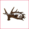 Resin moose Antle for home decoration