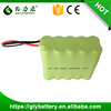 Rechargeable 600mAh NIMH Battery 12V Battery Pack For Electronic Equipment