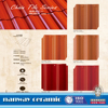 Hot sell red clay roof tiles,spanish red clay roof tiles