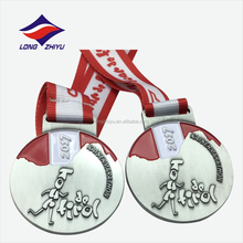 Wholesale sport marathon running souvenir medal for finisher