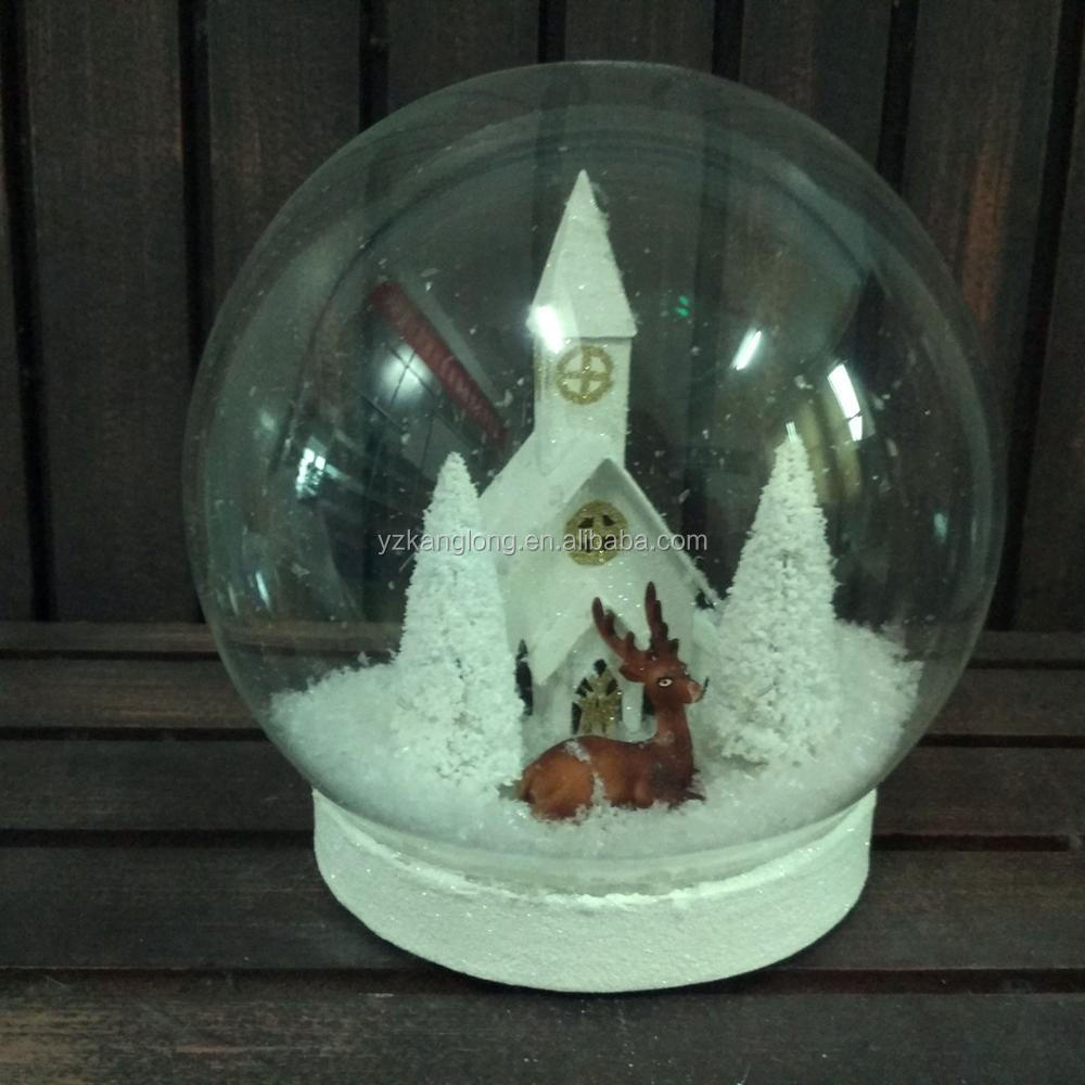 best sneakers b04dd a129d Clear Glass Christmas Ball With Deer And Paper House Led Light Table  Ornaments - Buy Clear Glass Christmas Ball,Christmas Balls With Wire,Orange  ...