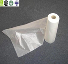 HDPE biodegradable poly flat bag plastic roll bags for food packing/ziplock food bag