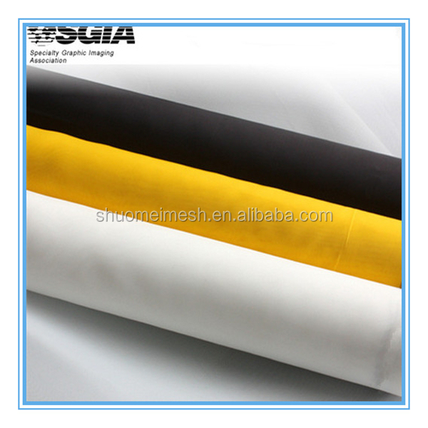 dpp monofilament polyester silk screen, producer with low price