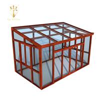 Topwindow Laminate/Low-E Glass For Balcony Buildings Aluminium Portable Sunroom Green House Design veranda sunroom glass house