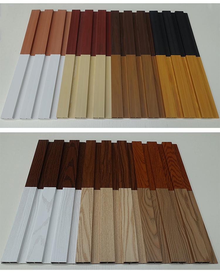 Comfortabele indoor licht gewicht WPC wandpaneel Populaire Modern design
