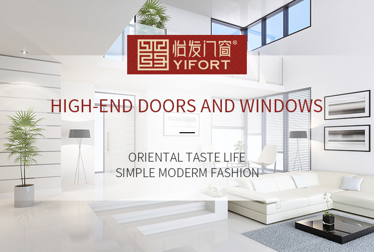 wood four panel aluminium profile sliding wardrobe door