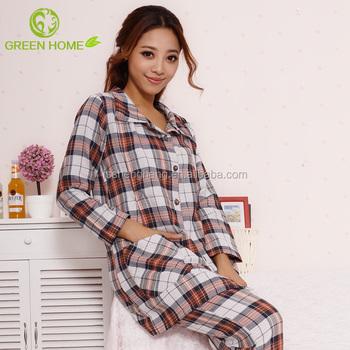 Sexy Plus Size Maternity Cotton Nighty Women Pajama For Nursing