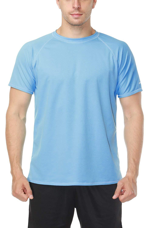 47d6b73f8d748 V FOR CITY Womens Plus Size Solid UPF 50+ Swim Shirt Active Rashguard Work  Tops