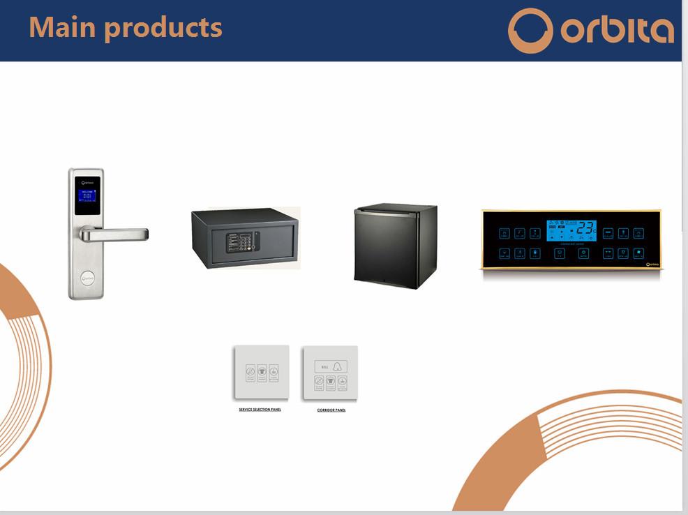 Hotel Card Key Lock System Orbita Management