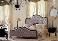 China Factory Classic American Style Solid Wood furniture bedroom Suite LF013