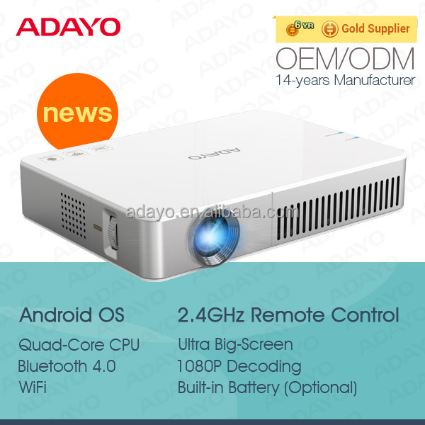 Video projector full hd built in battery