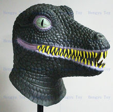 Hot-selling Realistic Dinosaur Mask Full Head Rubber Mask