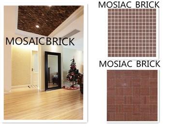 Briques En Terre Decoration Mosaique Brique Decoration Mur De