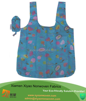 Foldable With Pouch Eco Shopping Bag Grocery Supermarket Carry Bag