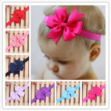 2015 New Baby Bow Headband Hair Bowknot Headbands Infant Hair Accessories Girls Bow Headband Toddler Hairbands XH1001