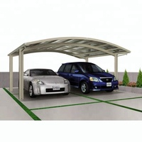Green all weather polycarbonate covering carport canopy