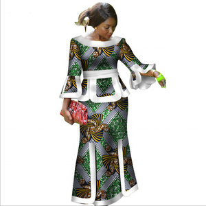 African Dashiki Style Women Dress