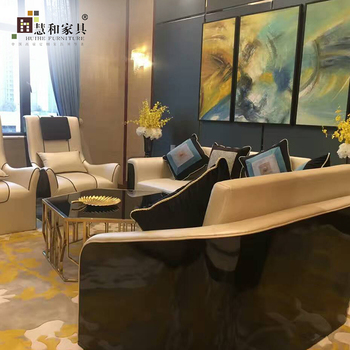 Custom High Quality Hotel Sofa Lobby Set For
