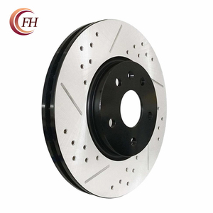 Auto spare parts front brake disc.