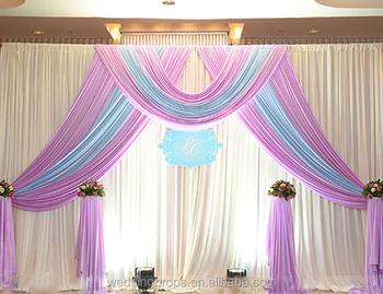 Custom Pipe And Drape Wedding Backdrop Freestanding Backdrop Buy Freestanding Backdrop Lighted Backdrops For Weddings Pipe And Drape Wedding