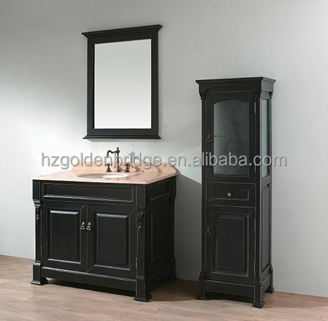 classin solid wood wholesale bathroom furniture 9122